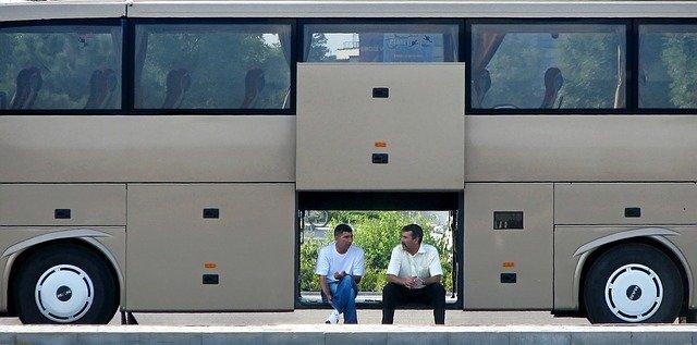 Busy do Niemiec – reklama przedsiębiorstwa